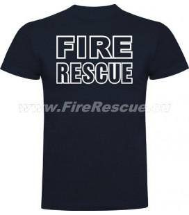 FIRERESCUE T-SHIRT - BLUE